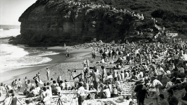 Scenes from the Bells Beach Rip Curl Easter classic in 1998.