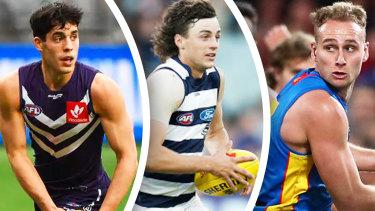Adam Cerra (Carlton), Jordan Clark (Fremantle), and Will Brodie (Fremantle) all found new clubs.