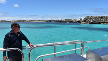 Those on board are able to go for a swim off either Longreach or Parakeet Bay.