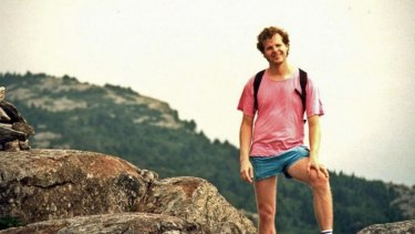 The last photo of Scott Johnson, who died in a cliff fall 30 years to the day.