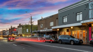 King Street, Newtown, is bucking a trend by catering to locals who don't own cars.