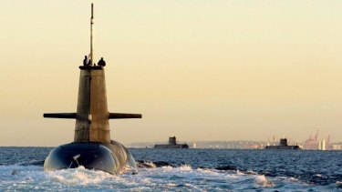 The WA government wants Collins Class submarine sustainment to come to WA.