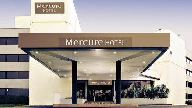 Mercure Hotel in Penrith has 222 rooms for the players and staff.