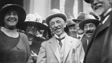 League of his own: Prime Minister Billy Hughes was the first patron of former NSWRL club Glebe.
