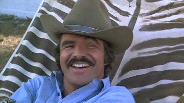 Actor Burt Reynolds.