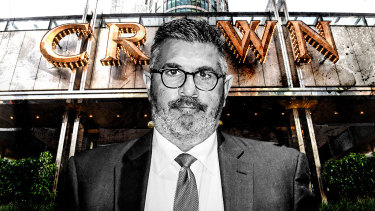 Andrew Demetriou has resigned from Crown Resorts.