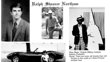 Virginia's Governor Ralph Northam is facing calls to resign after a racist photo of himself surfaced.