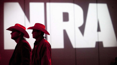 NRA members at their annual meeting in 2017.