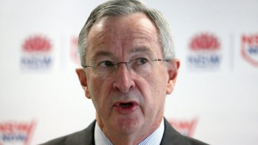 'There has clearly been a miscalculation of the number of people [using the hospital],' NSW Health Minister Brad Hazzard said.