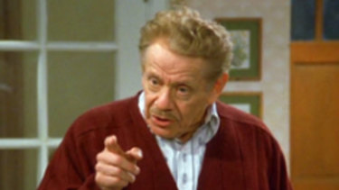Jerry Stiller took over the role of George Costanza's neurotic father Frank  in Seinfeld.