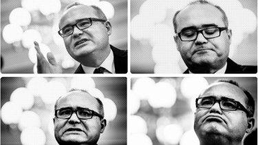 Adem Somyurek: a man of many faces.