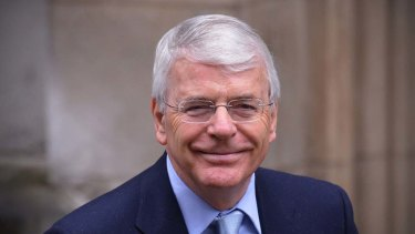 Former British prime minister John Major has told voters in three seats not to vote for his party.