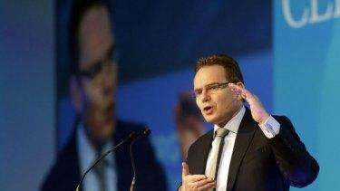 BHP chief executive Andrew Mackenzie.