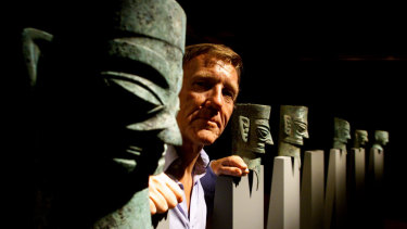 Edmund Capon and The Masks of Mystery Exhibition at the Art gallery of NSW.