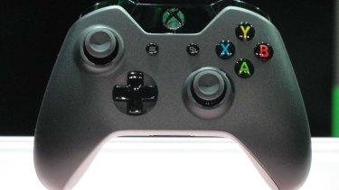 Microsoft's Xbox One controller.