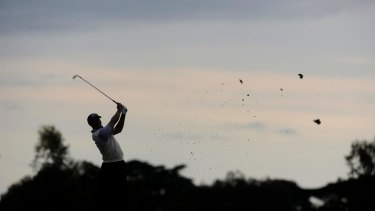 Who could the mystery golfer be?