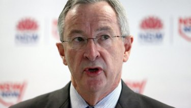 Health Minister Brad Hazzard claimed he had not spoken to one doctor unhappy with the new hospital.