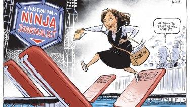 David Pope editorial cartoon for Friday, July 27.