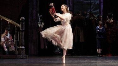 Benedicte Bemet in The Australian Ballet production of The Nutcracker.