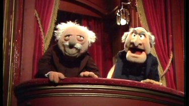 Statler and Waldorf, Muppet hecklers.