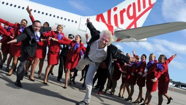 Virgin co-founder Richard Branson is pushing to maintain an ownership stake in a re-launched Virgin Australia.