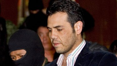 Vicente Zambada Niebla, a former top lieutenant in the Sinaloa cartel, testified against his father at the El Chapo trial.