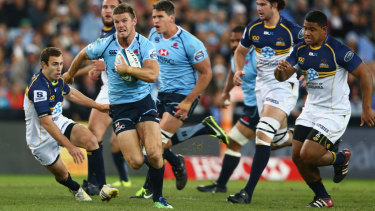 Horne in action for the NSW Waratahs.