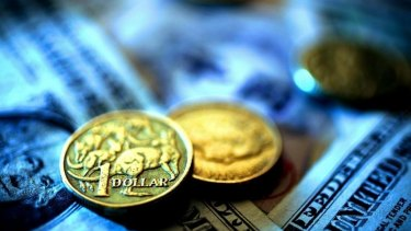 The Australian dollar continued to decline overnight.