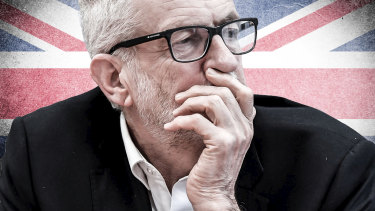 """I wanted to unite the country that I love but I'm sorry that we came up short,"" wrote Jeremy Corbyn."