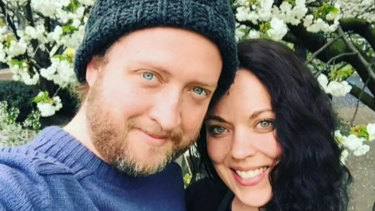 Amy Parsons' body was found in the couple's London apartment following a call over concerns for her welfare.