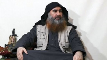Abu Bakr al-Baghdadi has been seen for the first time in five years alive and well in latest Islamic State video.