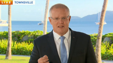Scott Morrison started his last day of the campaign in Queensland, where his seeking to protect a string of marginal seats.