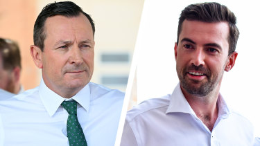 Mark McGowan and Zak Kirkup have been hitting the hustings hard to start 2021.