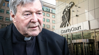 A fallen leader of the church ... George Pell, who was sentenced on Wednesday.