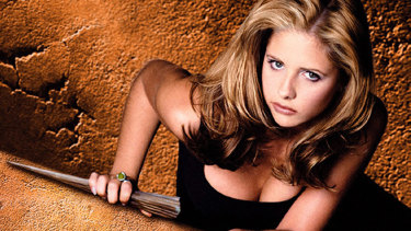 Created by Joss Whedon, <i>Buffy the Vampire Slayer</i> featured Sarah Michelle Gellar as the blonde protagonist who fought evil.