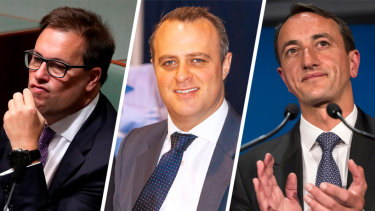 Liberals Jason Falinksi, Tim Wilson and Dave Sharma joined the condemnation of Labor's electric car target.