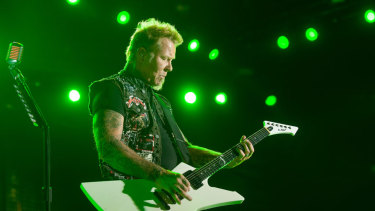 Get those horns up, Metallica are coming back to Perth