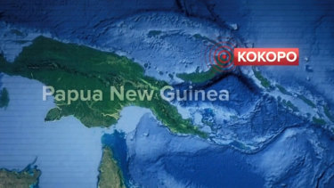 A powerful earthquake has struck off the coast of Papua New Guinea triggering a tsunami warning.
