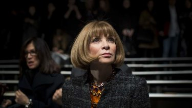 Anna Wintour officially stuck a stiletto in the persistent rumour she'd be stepping down from Vogue this year.