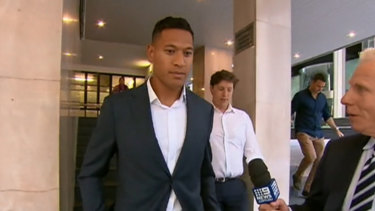 Israel Folau was sacked after a series of controversial social media posts.