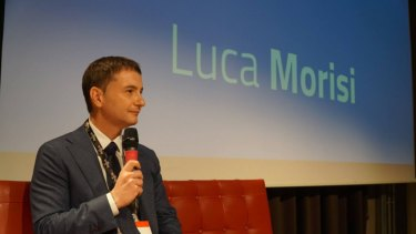 Don't call me a spin doctor: Luca Morisi, the digital strategist employed by Italy's interior minister Matteo Salvini.