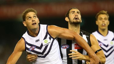 The Dockers champion will help develop younger ruckmen.