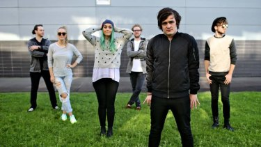 Brisbane-based band Sheppard.