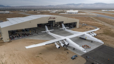 Stratolaunch is the world's largest plane by wingspan.