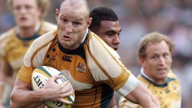 Stirling Mortlock during his playing days.