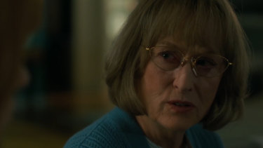 Meryl Streep as Mary Louise in the second season of Big Little Lies.