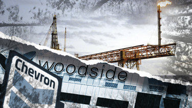 The report singles out US company Chevron and Australian company Woodside as among the nation's biggest polluters.
