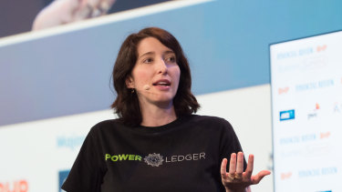 Power Ledger co-founder Jemma Green.