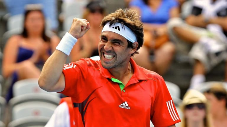 Marcos Baghdatis is a hero - and now friend - of Tsitsipas.