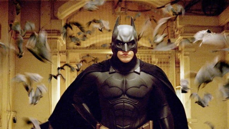 """Christian Bale as Batman in """"Batman Begins"""" in 2005, haven't we moved on a bit from the super alpha now?"""